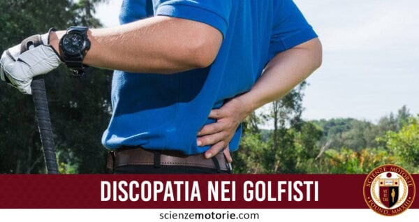 discopatia golfista